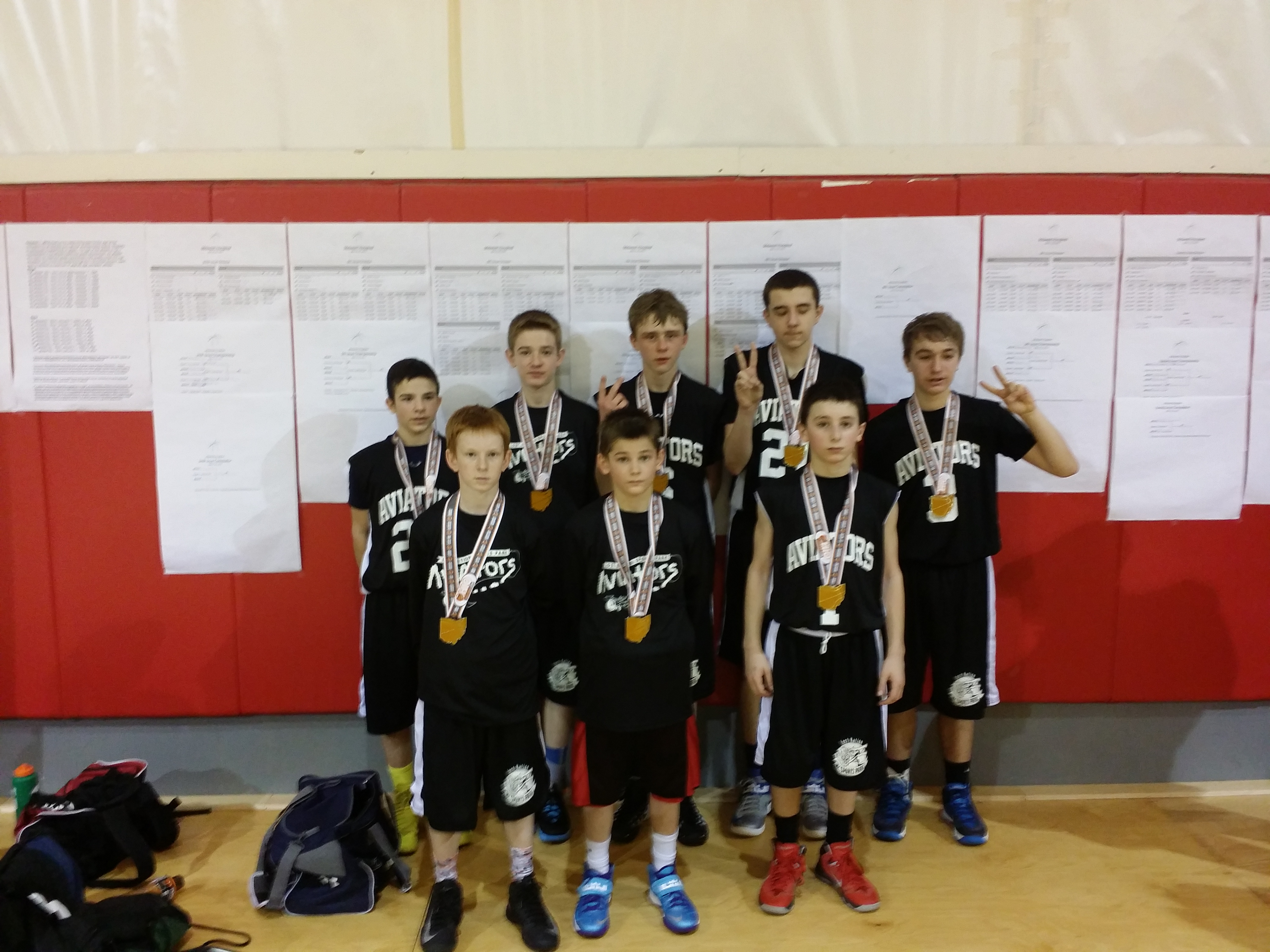7th Grade Boys Runner-up – Aviators