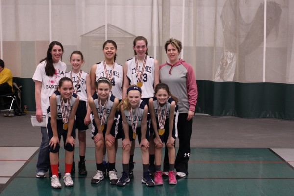 6th Grade Girls Runner-up – MillCreek Cyclones