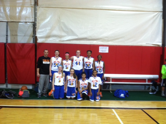 8th Grade Girls Champion – SMAC Havoc