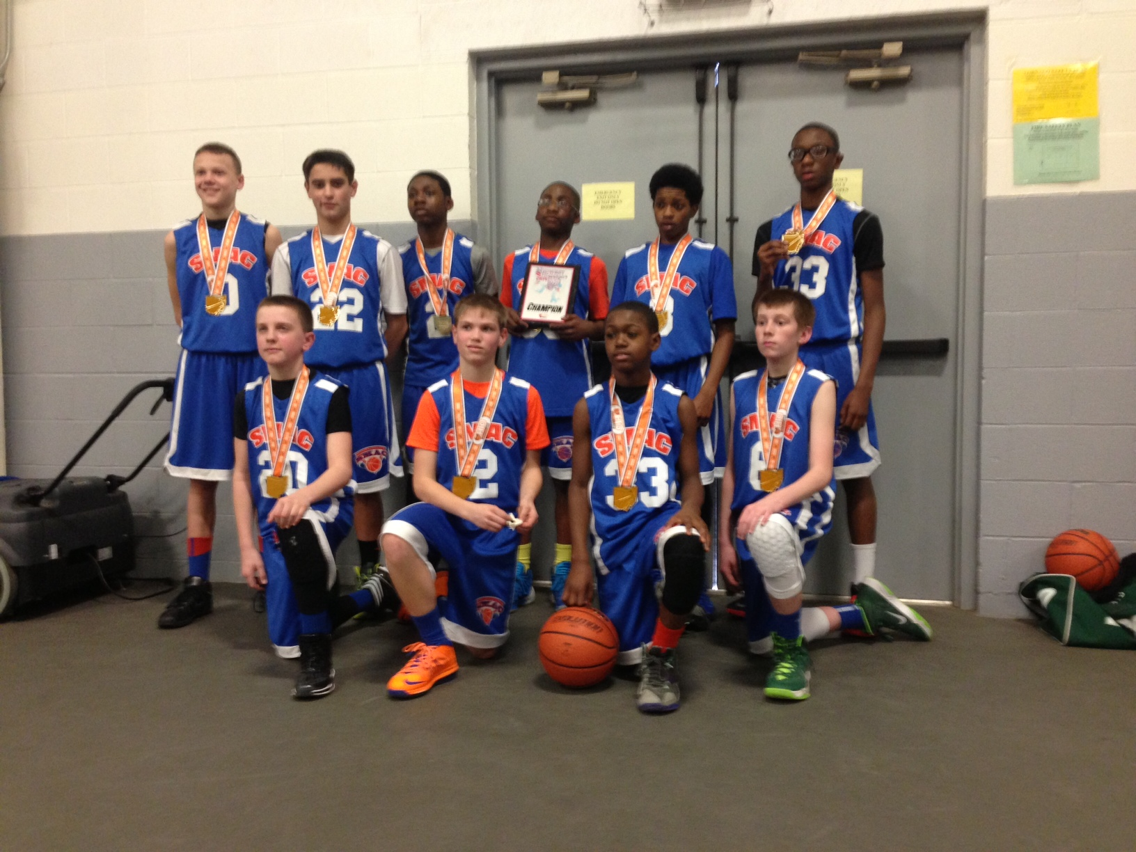 6th Grade Boys Champion – SMAC Primetime