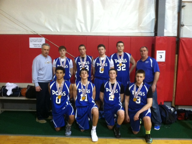 9th Grade Boys Runner-up – Dogs