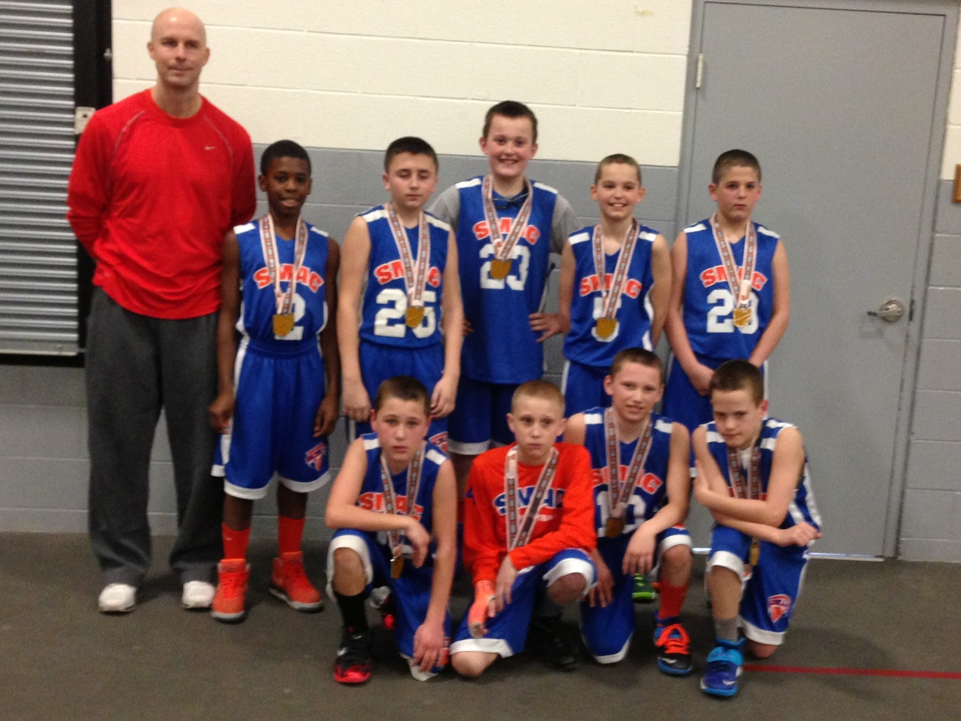 5th Grade Boys Runner-up – SMAC Future