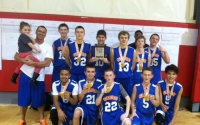 8th Grade Boys Champions – SMAC Flash