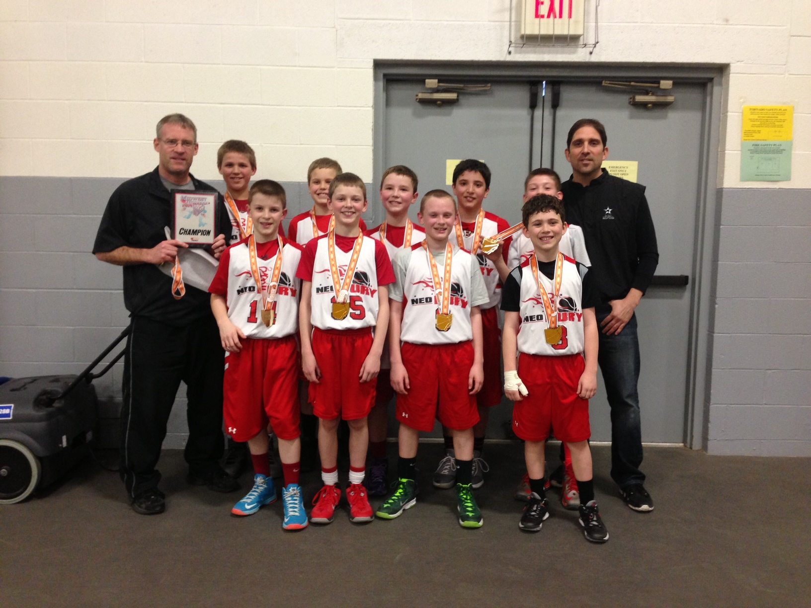 5th Grade Boys Champion – NEO Fury