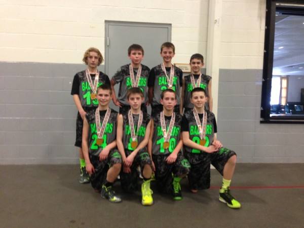 6th Grade Boys Runner-up – Ballers
