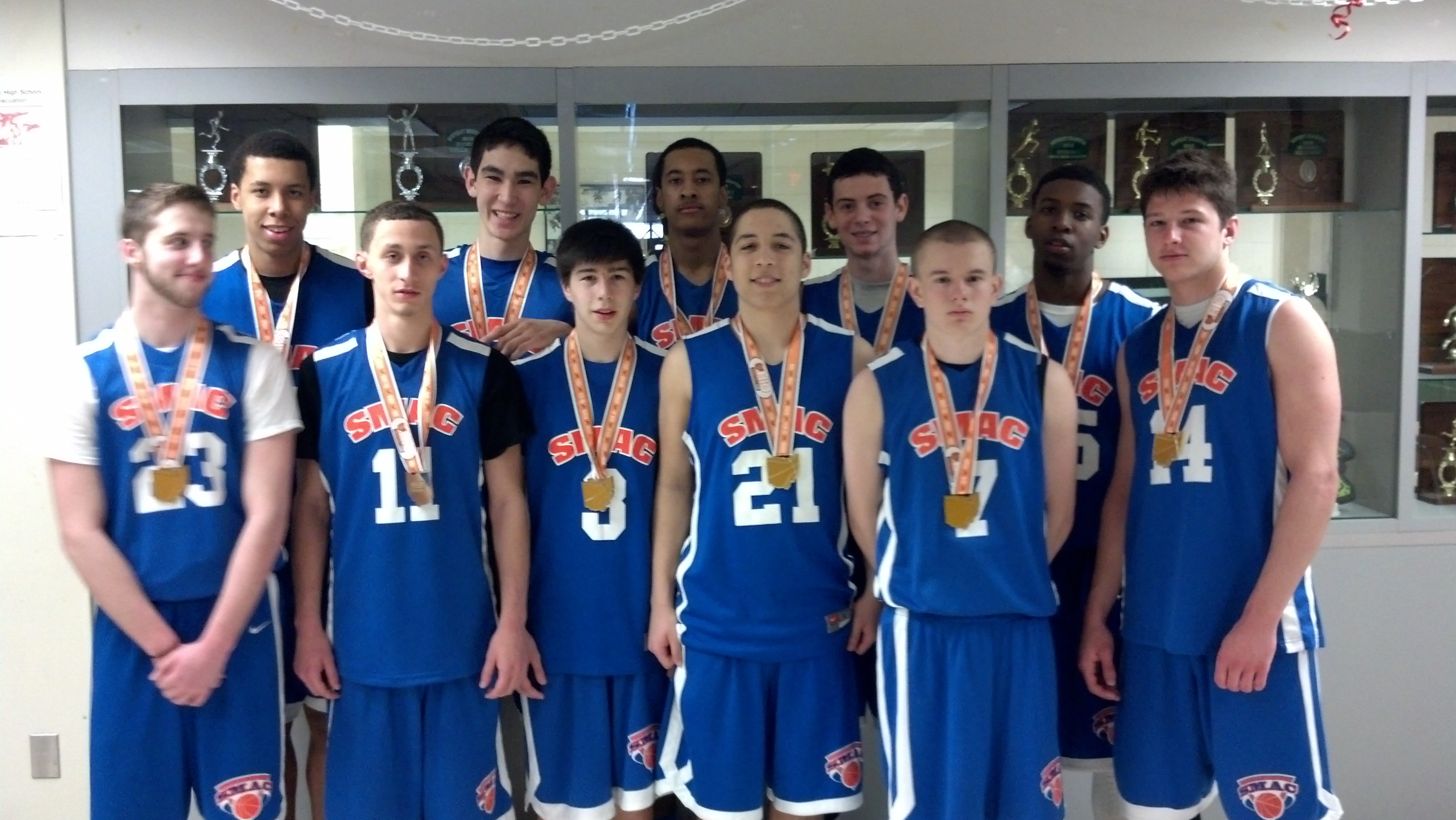 spring run and jump 11th grade champs SMAC REDDY