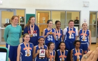 spring run and jump 6th girls champs SMAC Mustangs