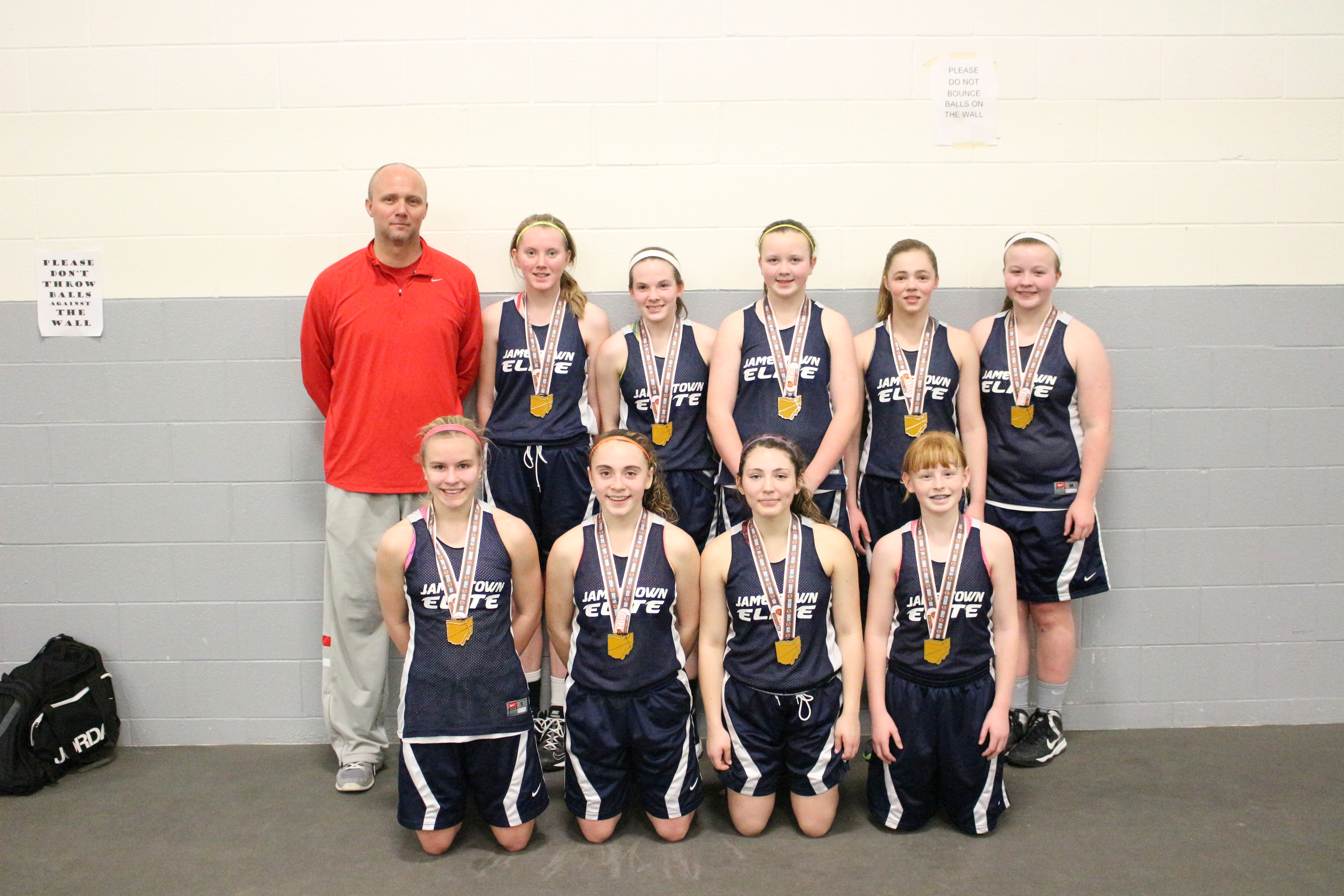 spring run and jump 7th grade runner up Jamestown Elite