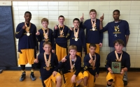 7th boys champs  Blue and Gold