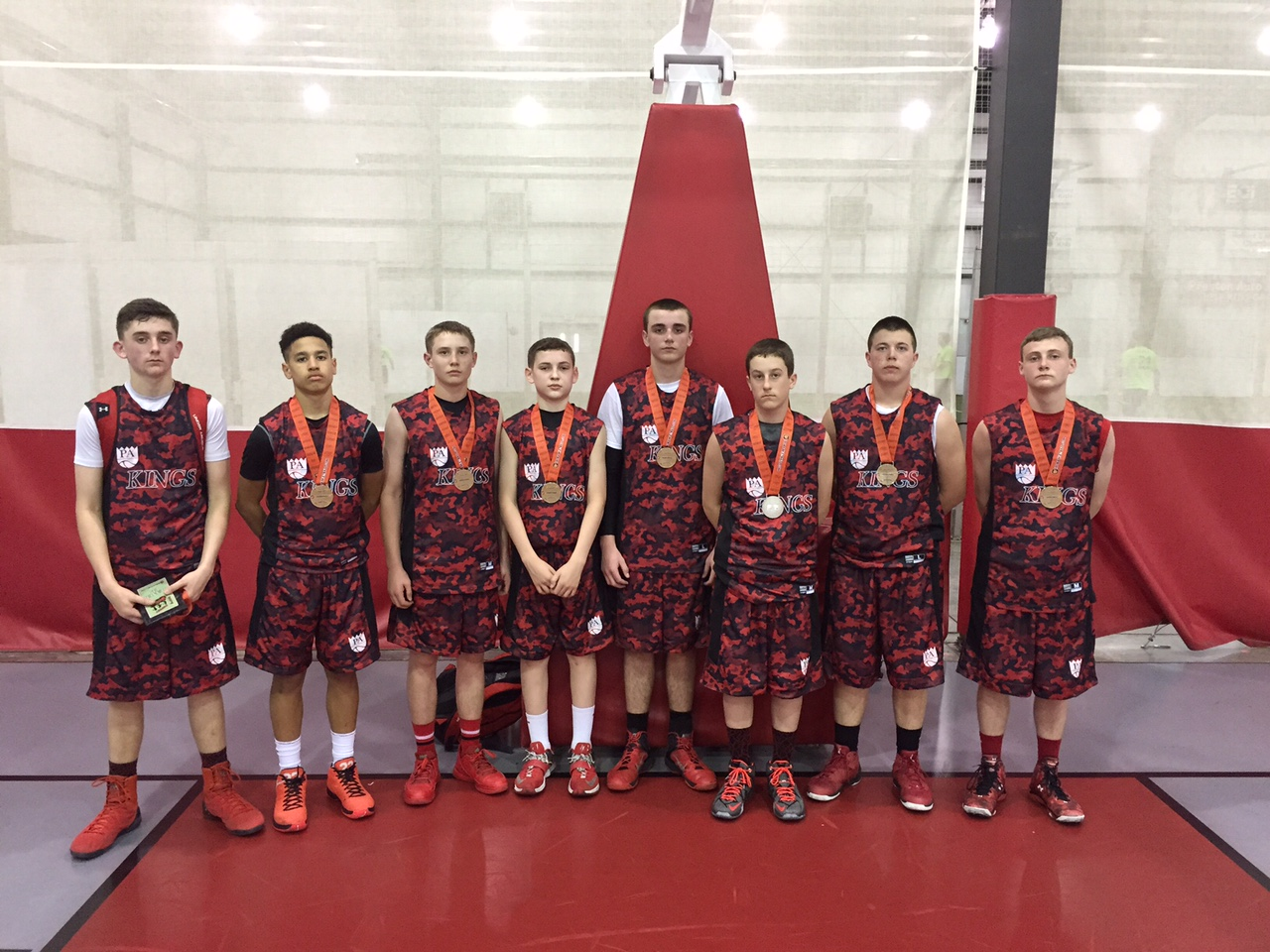 8th runner up slippery rock PA kings