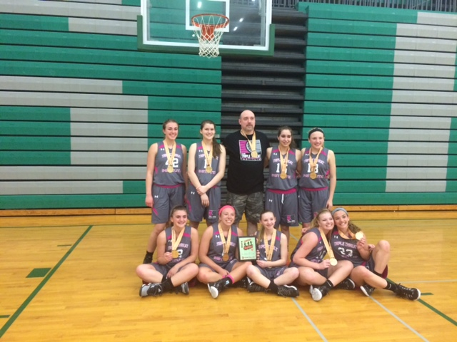 Champions Triple Threat  Runner up Metro USA 9th grade girls