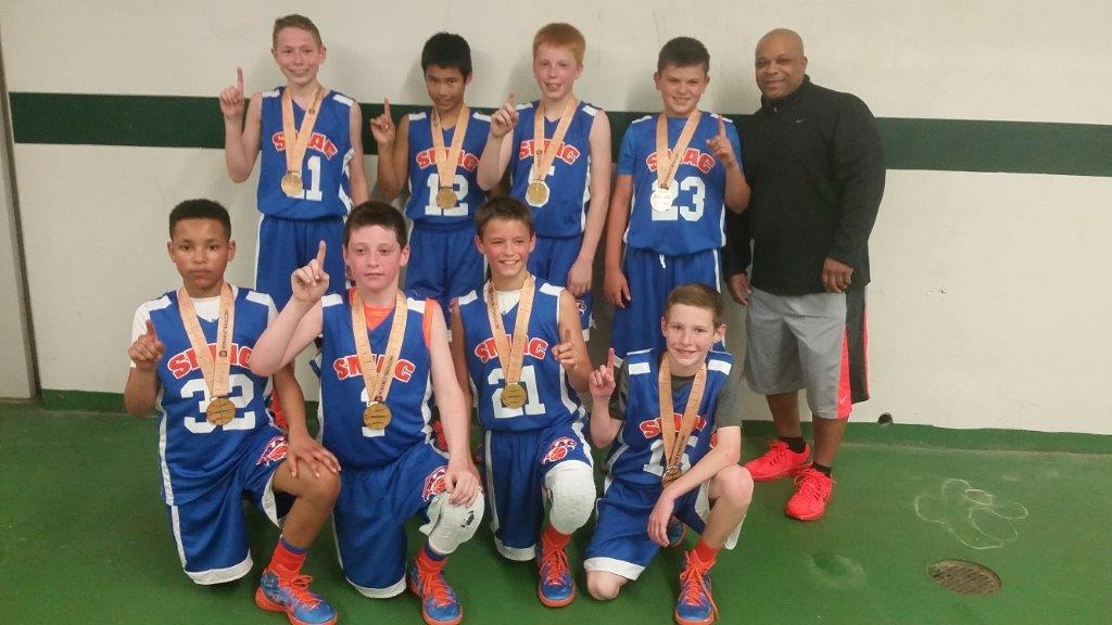 SMAC Select 5th Grade Champs Slippery Rock